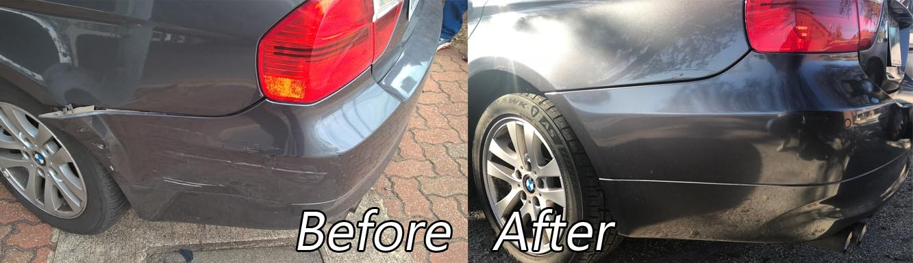 Before & After Collision Repair