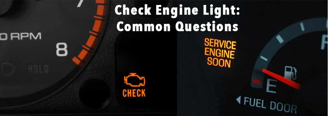Check Engine Light: Common Questions