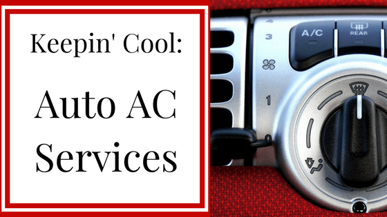 Keepin' Cool: Auto AC Services