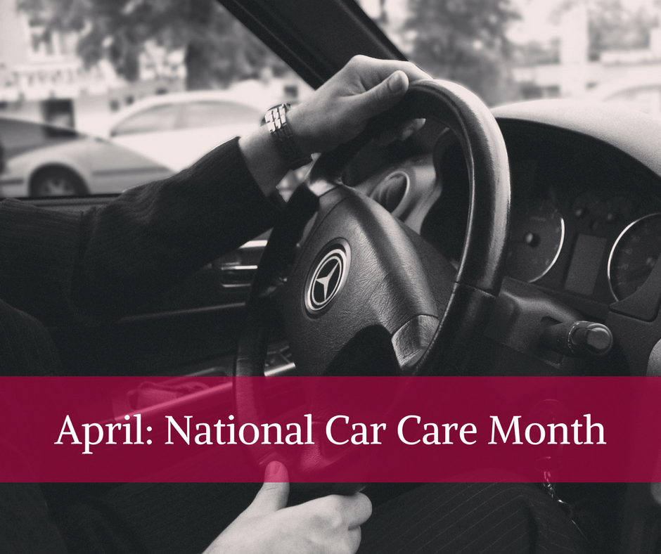 April: National Car Care Month