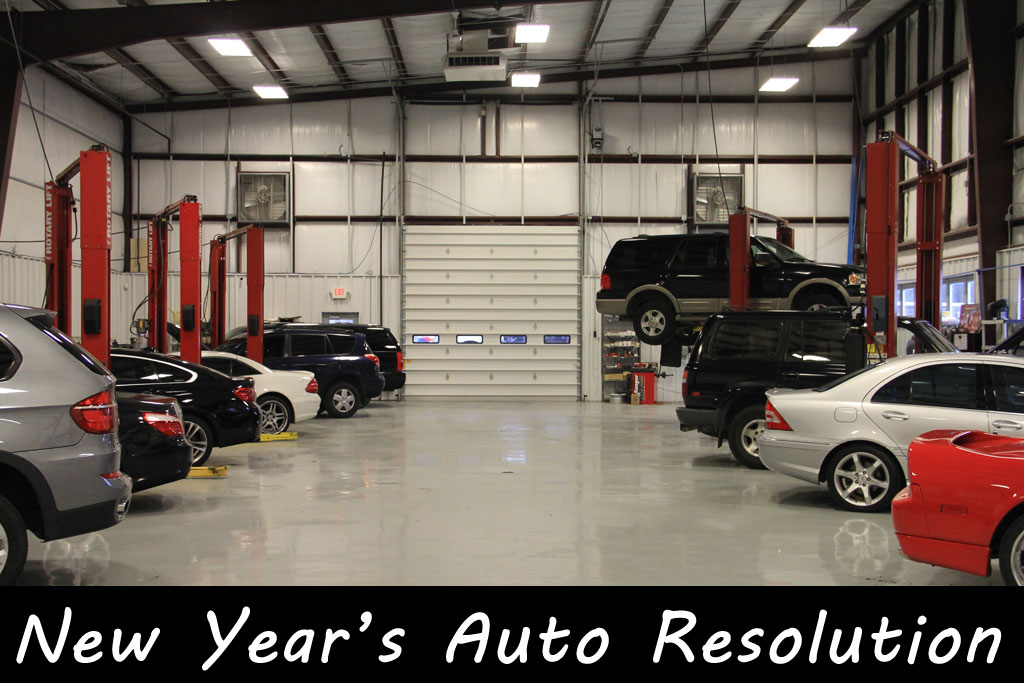 Your Vehicles New Years Resolution